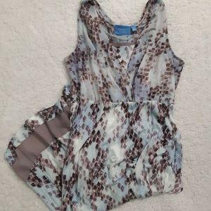 Simply Vera Vera wang hi low sleeveless dress
